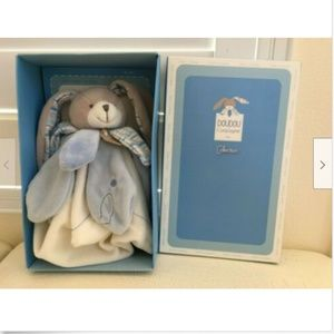Doudou Et Compagnie Paris Blue Bunny Rabbit